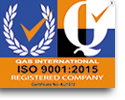 qas registered firm logo